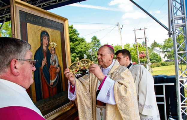 Koronacja obrazu Matki Bożej w Domanowie