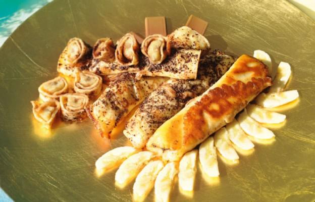Naleśniki bananowo-czekoladowe