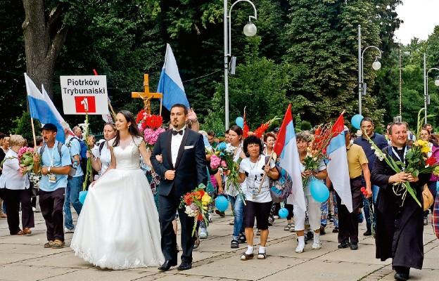 Piotrkowscy pielgrzymi umocnieni wiarą