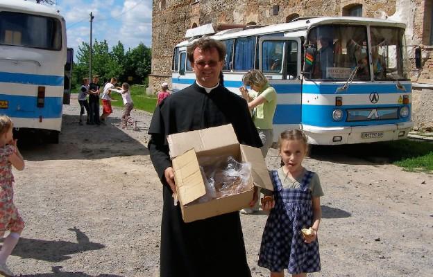 Pielgrzymka dzieci do Berdyczowa