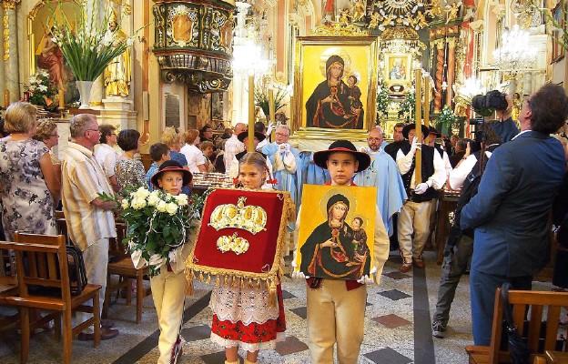 Uroczystości 50. rocznicy koronacji obrazu Matki Bożej Rychwałdzkiej