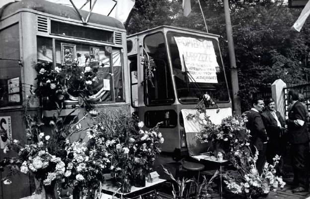 Zajezdnia MPK we Wrocławiu 1980 r.