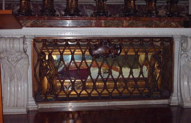 Grób papieża Piusa X w bazylice watykańskiej