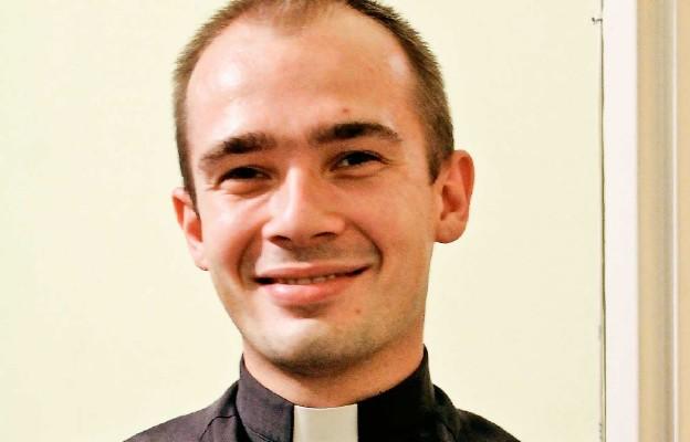 Ks. Łukasz Żołubak – neoprezbiter, od września rozpocznie posługę moderatora diecezjalnej diakonii ewangelizacji