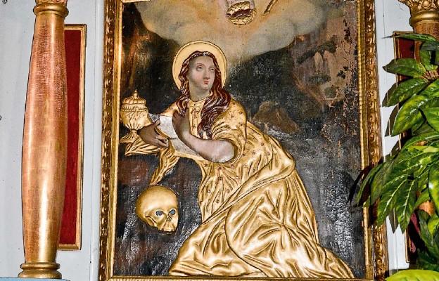 Ołtarz św. Marii Magdaleny w starym kościele