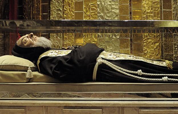 Obrazek z Ojcem Pio