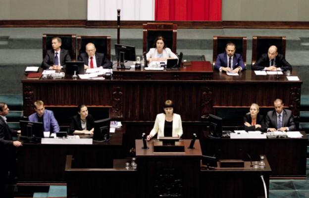 Sejm przeciw życiu