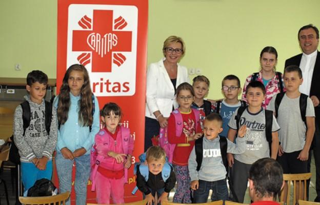 Tornistry trafiły do dzieci