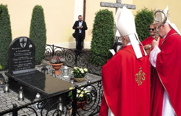 Grób pierwszego męczennika pochodzącego z diecezji świdnickiej znajduje się w Kudowie Czermnej