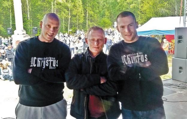 Odm lewej: Jacek Zajkowski, Marek Sobisz, Piotr Zalewski