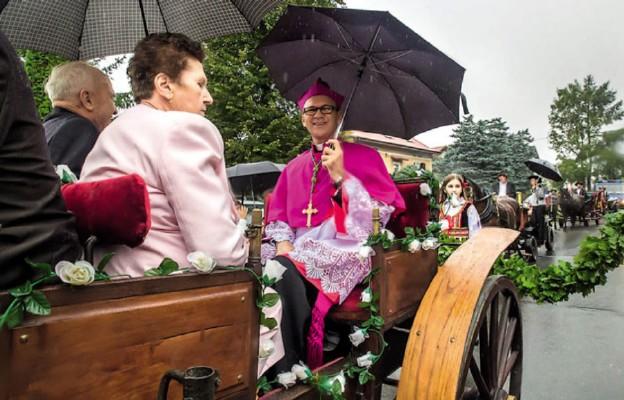 Wysoka Strzyżowska wita swojego biskupa