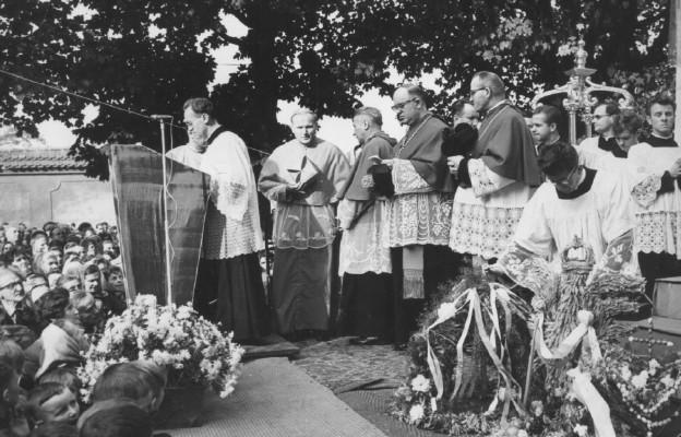 Kard. Karol Wojtyła, Trzebnica 15 października 1967 r.