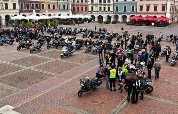 Motocykliści u św. Antoniego w Radecznicy