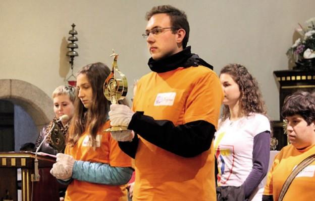 Korowód Świętych na ulicach Bielska