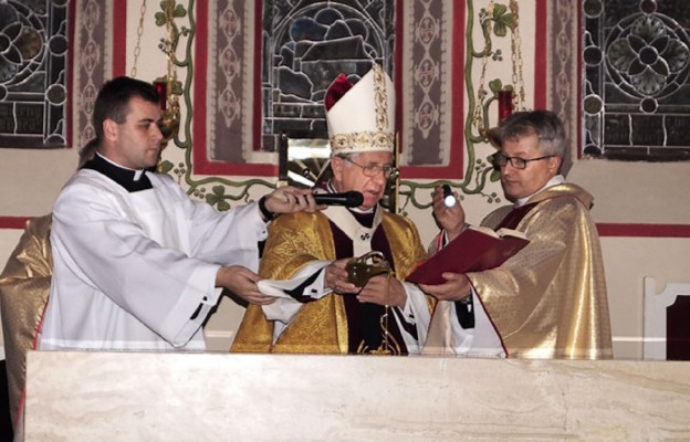 Konsekracja kościoła w Zieleniewie