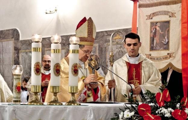 Wprowadzenie relikwii św. Małgorzaty Marii Alacoque