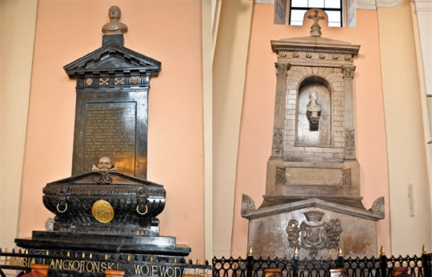 Niezwykłe pomniki Lanckorońskich