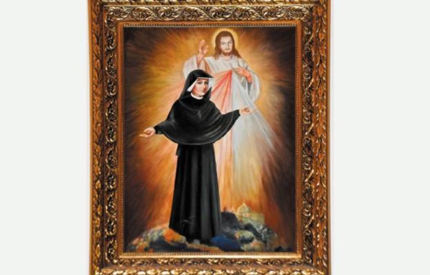 Portret św. Faustyny
