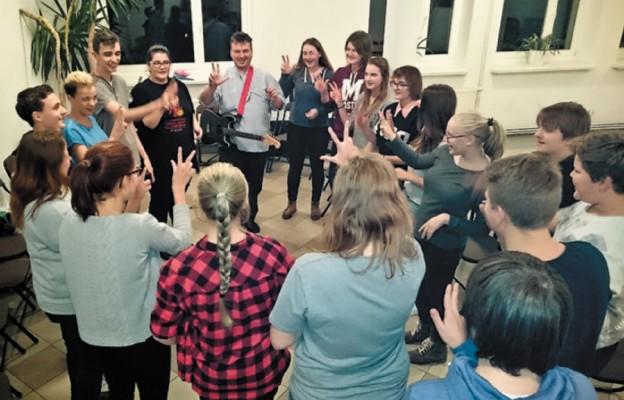 Młodzież z Niemiec w naszej diecezji
