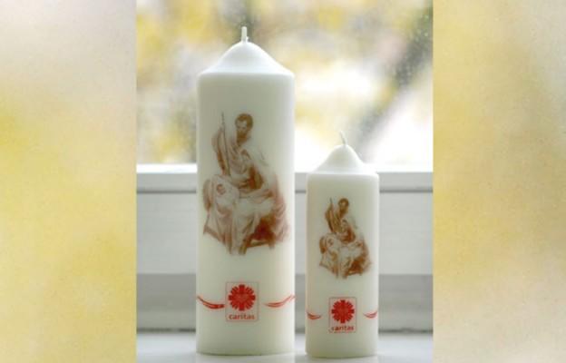 Świeca Caritas – symbol miłosierdzia