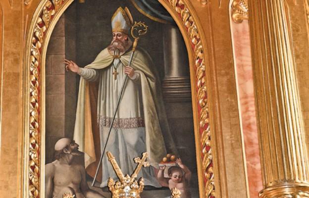 Św. Mikołaj opiekun kościoła w Skale