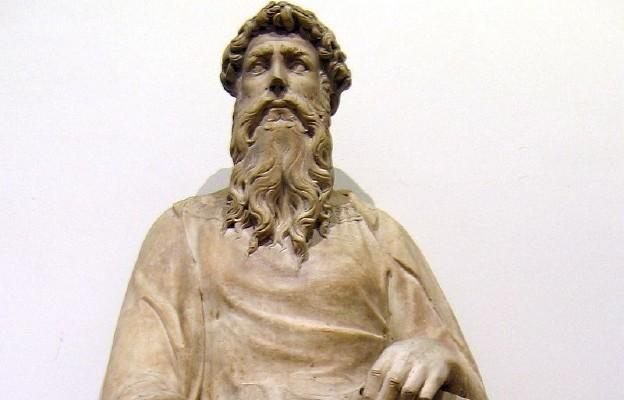 Św. Jan Ewangelista – marmurowa rzeźba Donatella z lat 1408-15