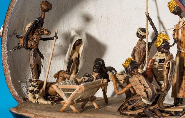 Fragment szopki afrykańskiej