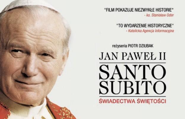 Jan Paweł II. Santo subito. Świadectwa świętości