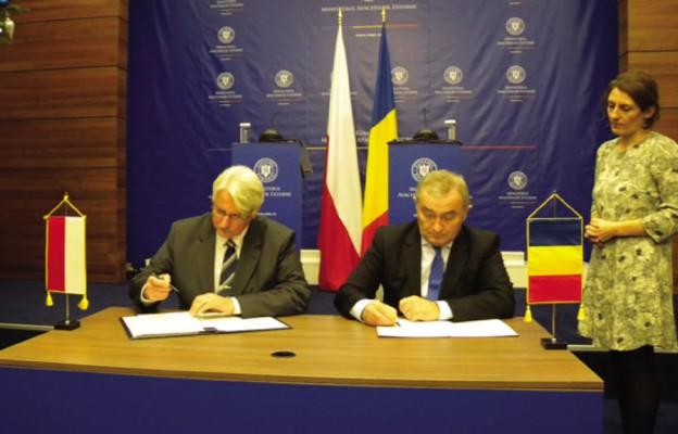 Polska i Rumunia jednym głosem