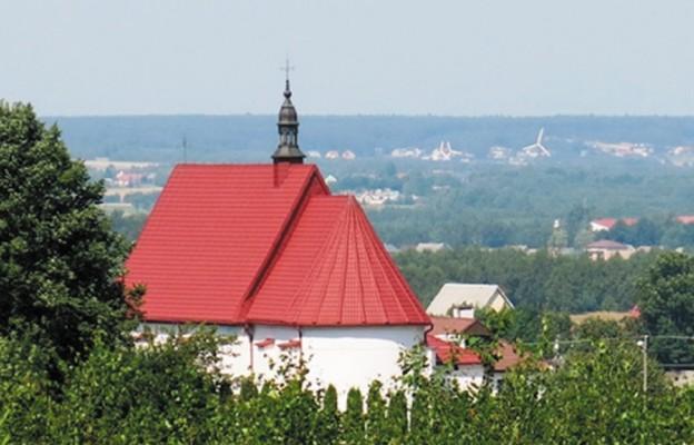 Św. Stanisław z ołtarza głównego