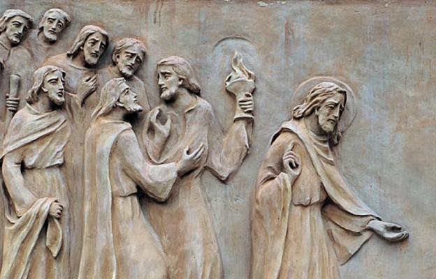 """Kościół św. Piotra """"In Gallicantu"""" w Jerozolimie (płaskorzeźba z XXl wieku)"""