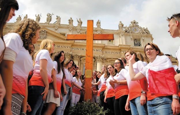 Peregrynacja symboli Światowych Dni Młodzieży