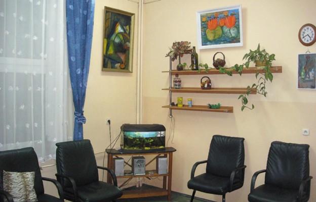 Jedna z sal na Oddziale Psychiatrycznym