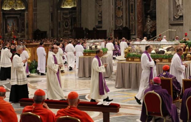 Misjonarze miłosierdzia w Środę Popielcową, podczas Mszy św. w Bazylice św. Piotra w Rzymie, zostali posłani do świata przez papieża Franciszka