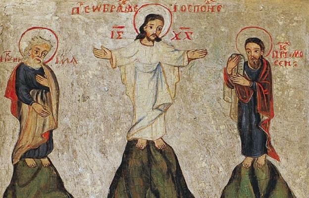 Mojżesz i Eliasz przy Przemienieniu