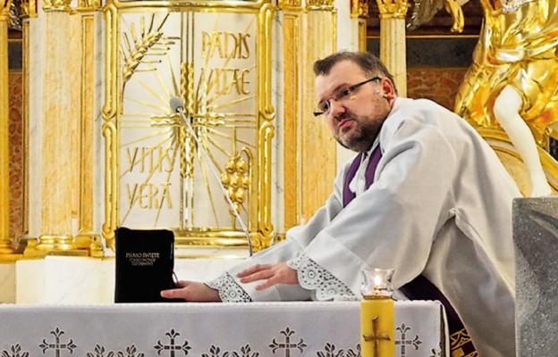 Ks. Przemysław Sawa misjonarzem miłosierdzia