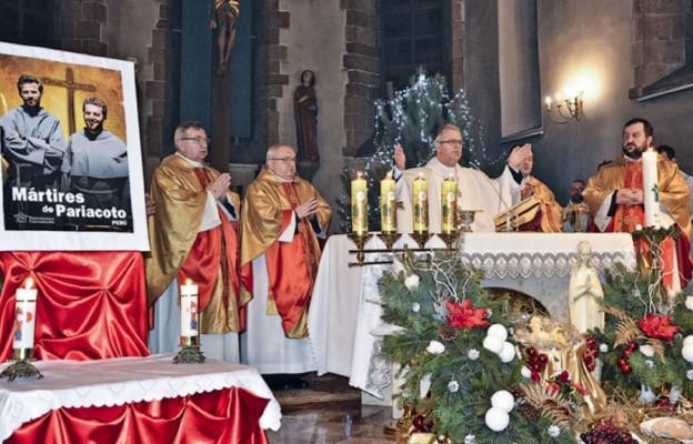 Przy relikwiach franciszkańskich męczenników