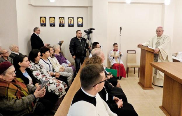 Nowa szpitalna kaplica