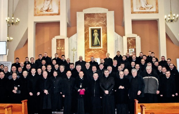 Spotkania księży z diecezji drohiczyńskiej u Bram Miłosierdzia