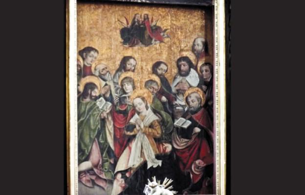 Zapomniany obraz Zaśnięcia Najświętszej Maryi Panny