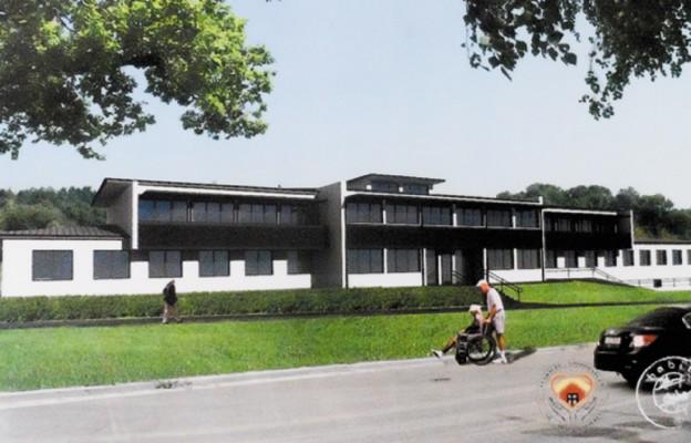 W Busku-Zdroju budują hospicjum
