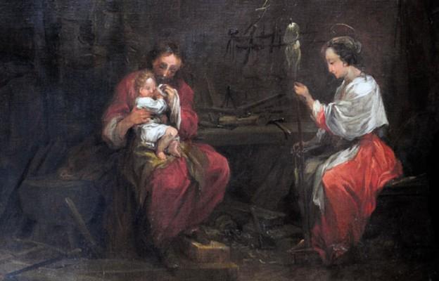 Malując obraz św. Józefa