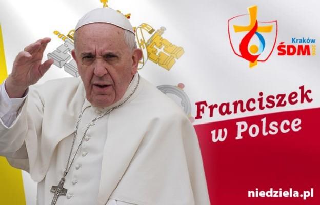 Kraków – spotkanie z młodzieżą świata <br>Jasna Góra – narodowa Msza św. z papieżem Franciszkiem