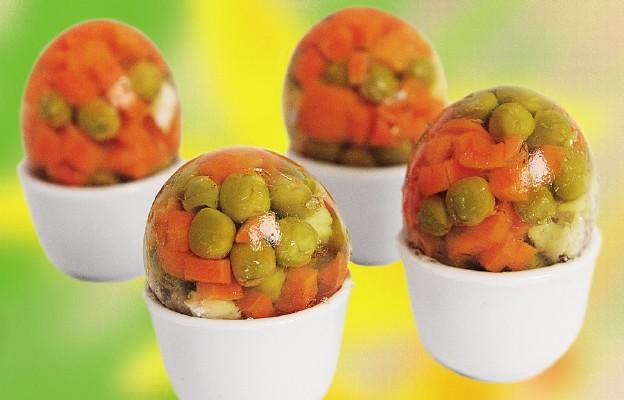 Galaretka w jajkach