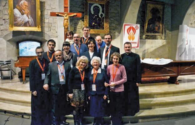 Delegacja diecezji drohiczyńskiej
