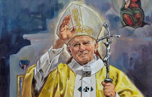 Św. Jan Paweł II w malarstwie Janusza Szpyta
