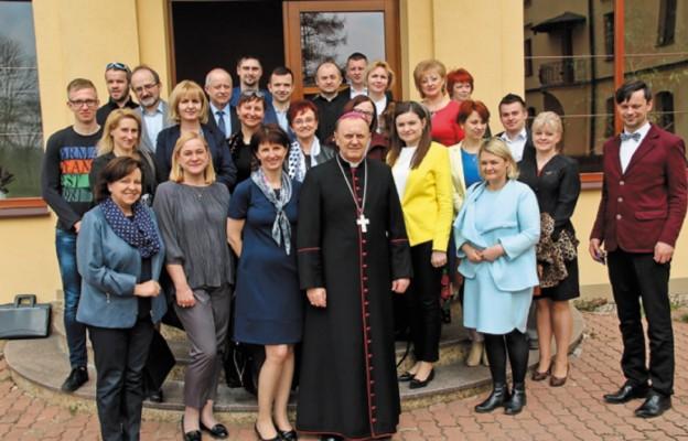 Spotkanie ludzi kultury u Biskupa Drohiczyńskiego