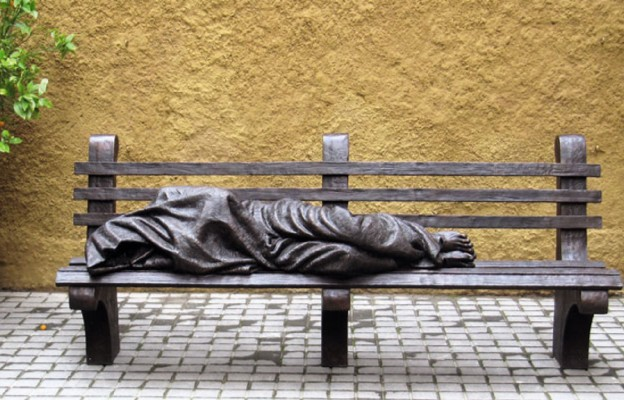 """""""Bezdomny Jezus"""" w Watykanie"""
