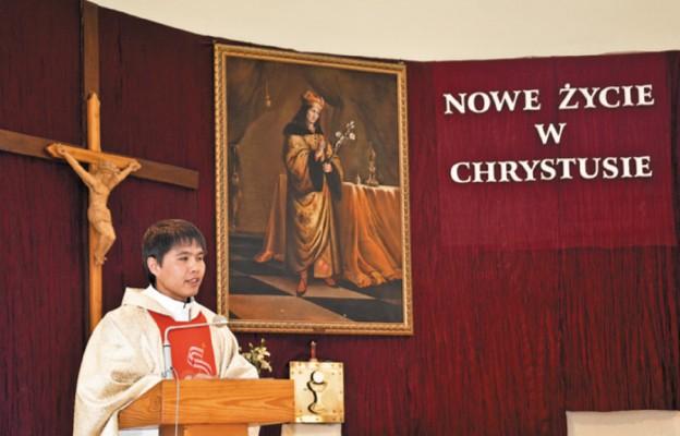 Ksiądz Jan Hon Yongwang w Bilczy