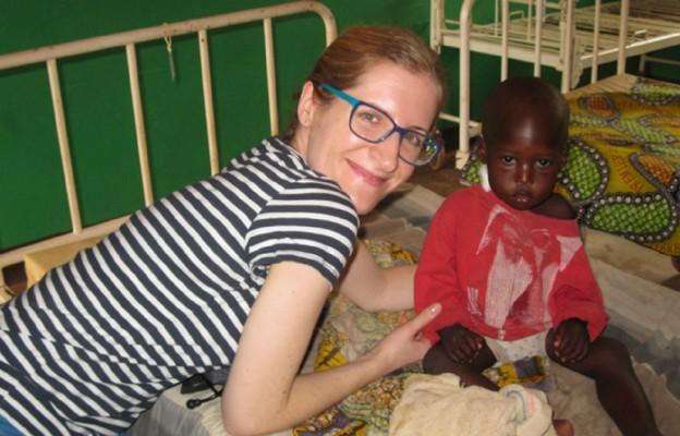 Lekarka Emilia Bylicka wspiera misje prowadzone przez diecezję tarnowską w Republice Środkowoafrykańskiej